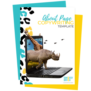 About Page Copywriting Template